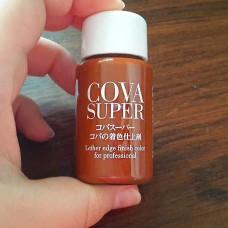 Краска для уреза кожи Cova Super коричневая