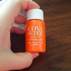 Краска для уреза кожи Cova Super оранжевая