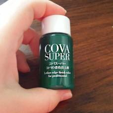 Краска для уреза кожи Cova Super зеленая
