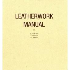 Книга по работе с кожей leatherwork manual by Al Stohlman