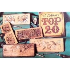 Книга по работе с кожей Top 20 by Al Stohlman