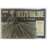 Книга по работе с кожей Belts Galore by Al Stohlman