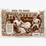 Книга по работе с кожей How to make holsters by Al Stohlman