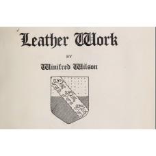 Книга о работе с кожей Leather Work, Wilson, 1908г