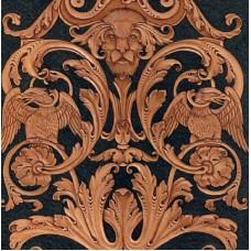 Шаблон для тиснения в Викторианском стиле