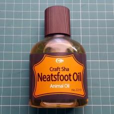 Масло копытное для кожи 100% Craft Neatsfoot Oil Pure 100 мл. Craft