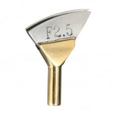 Насадка (утюжок) на паяльник для обработки края кожи F2.5 2mm