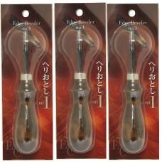 Кромкорез (фаскорез) для кожи 1мм SEIWA