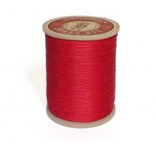 Нить льняная вощеная Sajou. Цвет Rouge (красный) 0.77мм.