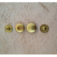 Кнопка альфа (золото) 10мм