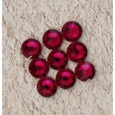 Стразы Swarovski темно-розовый 3.9мм, 10шт