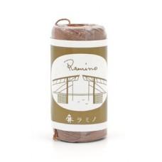 Нить вощеная для кожи Ramino japan made 16/5 1мм, светло-коричневый