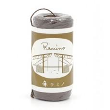 Нить вощеная для кожи Ramino japan made 20/3 0.8мм, темно-коричневый