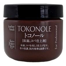 Паста для полировки уреза и изнанки Tokonole Seiwa 120 гр. цвет коричневый