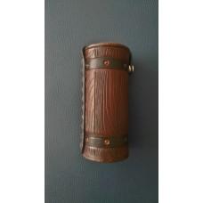 Тубус-чехол для круглой печати из кожи