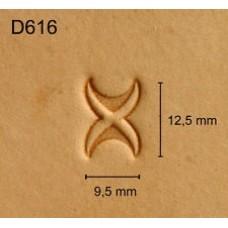Штамп для кожи D616 1/2