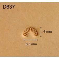 Штамп для кожи D637
