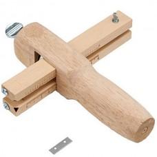 Поясорез для кожи деревянный