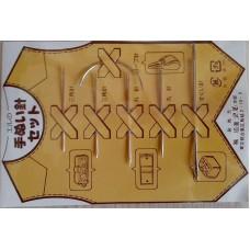 Набор игл для кожи 6шт Япония